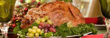 the roasted thanksgiving turkey on the big green egg using