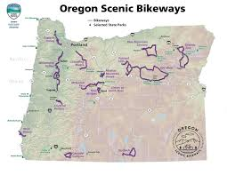 Highway Map Of Oregon by State Of Oregon Oregon Parks And Recreation Department Scenic