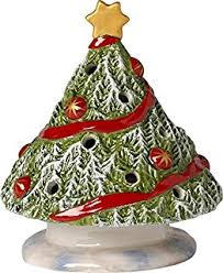 porcelain christmas tree with lights villeroy boch north pole express christmas tree porcelain green