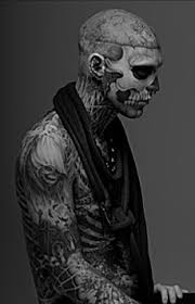 man with most tattoos in the world the tattooed zombie i like