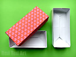 Paper Origami Box - easy rectangular origami box ted s