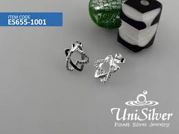 diamond earrings philippines earring silver jewelry philippines unisilver net