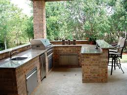 prefab outdoor kitchen kits custom outdoor kitchens ideas on a