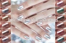 2016 bd metallic gel polish mirror effect powder gel nail polish