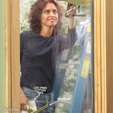 running into a glass door how to wash windows family handyman