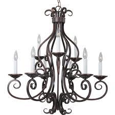 maxim lighting manor 9 light oil rubbed bronze chandelier 12216oi