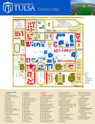 Tulsa Map Clarkson University Campus Map Campus Maps Facilities Management