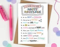 Marriage Advice Cards For Wedding Wedding Advice Cards Etsy
