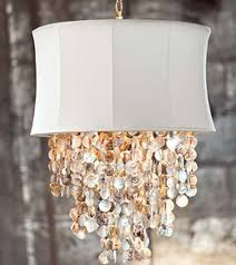 Abalone Shell Chandelier A Stunning Shimmering Waterfall Of Brilliant Color The Ivory