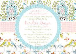 baby bird shower invitations themesflip com
