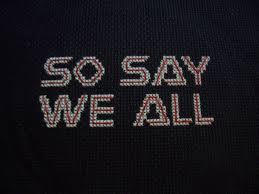 pdf cross stitch pattern so say we all battlestar galactica