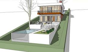 hillside home designs 13 new images of home plans built into hillside floor and house