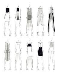 fashion sketches justine w lee