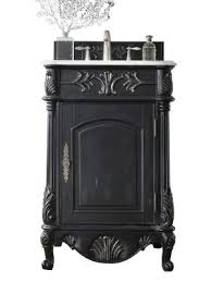 Black Distressed Bathroom Vanity Antique Bathroom Vanities For Elegant Homes