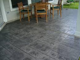concrete backyard design zamp co