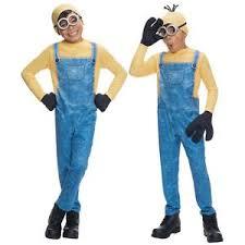 minion costume minion costume kids fancy dress ebay