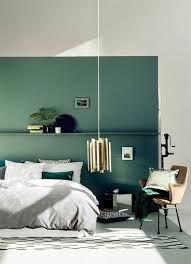 chambre verte en photos 15 inspirations pour une chambre verte ideo