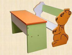 play desk for preschool table chair set at rs 4000 set kindergarden desk play
