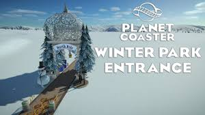 planet coaster winter park entrance