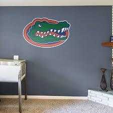 florida gators home decor florida gators logo wall decal shop fathead for florida gators