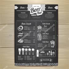 snack bar menu template 14 pub menu template free psd ai eps format free