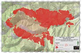 a map of oregon fires rail grows to more than 5 500 acres 10 homes on evacuation