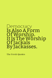 Quotes about democracy and capitalism essay Naureen Jamal
