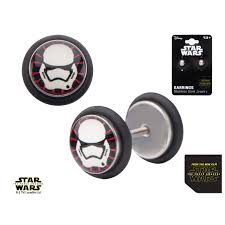 wars earrings episode 7 order stormtrooper back earrings