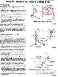 How Does A Dishwasher Drain Work Plumbing How Can I Install The Drain For My Reverse Osmosis
