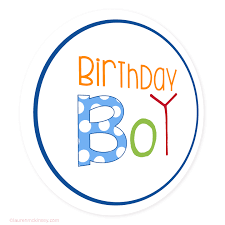 birthday boy circle tags birthday boy mckinsey printables