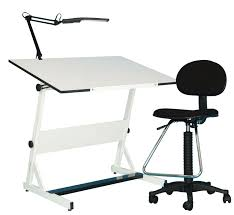 White Drafting Table Studio Designs Aries Glass Top Drafting Table Sonoma M Drafting