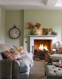 compact country living room with open fire hogar pinterest
