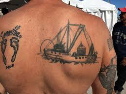 nautical tattoos tell the stories of our working waterfront