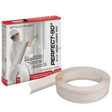 strait flex 2 in x 100 ft perfect 90 drywall joint tape inside