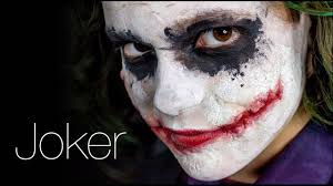 joker make up heath ledger style youtube