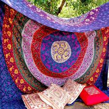 unique indian hippie mandala multi color 240x220cms tapestry by unique indian hippie mandala multi color 240x220cms tapestry by craftozone amazon co uk kitchen home