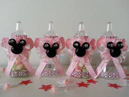 minnie mouse baby shower favors 12 minnie mouse pink fillable bottles baby shower favors prizes