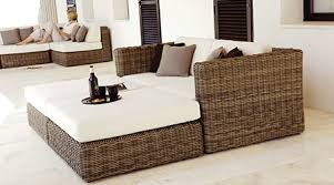 Outdoor Resin Wicker Furniture by Gloster Wicker Furniture Patio Land Usa