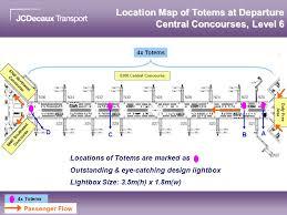 Hong Kong International Airport Floor Plan Totem Package Hong Kong International Airport Jcdecaux Transport