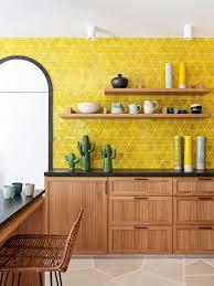 modern kitchen design yellow 26 bold black and yellow kitchen designs digsdigs