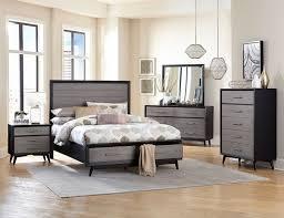 homelegance sylvania bedroom set driftwood oak 2298 bed set