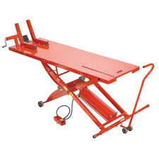 scissor lift table harbor freight titan motorcycle lift anyone have them quality mid grade chinese
