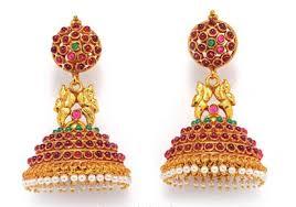 kerala earrings studded jhumka style earring kerala news kerala