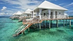 beach cabins maldives tropical paradise pinterest
