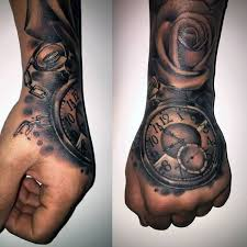 broken simple pocket watch tattoo design idea tattooshunter com