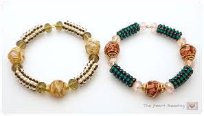 beading bracelet crystal images The heart beading bracelet jpg