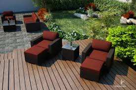 Patio Club Chair Harmonia Living Arden 5 Piece Club Chair Set Wickercentral Com