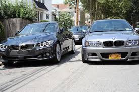 bmw 4 series m3 4 series luxury line vs e46 m3 in nyc