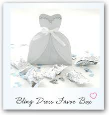 chagne wedding favors wedding gown favor boxes ribbon is included with the boxes but