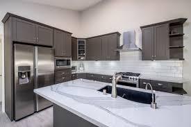 white kitchen cabinets with gray quartz counters grey and white quartz countertop modern kitchen gray
